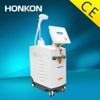 Quality 600W Medical Salon Diode Laser Hair Removal Equipment 808nm 2-120j/cm for sale