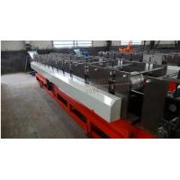 Wholesale 5.5kw / 7.5kw / 11kw Circular Gutter Downspout Roll Forming Machine Gearbox Driven from china suppliers
