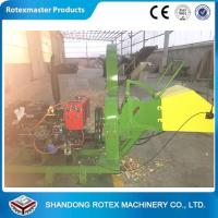 40HP Diesel Driven Type Forest Wood Chipper Shredder for Small Wood Logs