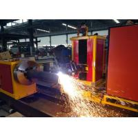 Wholesale Customized Cutting Length CNC Pipe plasma Cutting Machine  Loading Capacity 2000kgs from china suppliers