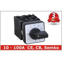 Wholesale 10 Position Rotary Switch , Manual Changeover Switch 63A 80A 100A from china suppliers
