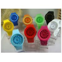 Wholesale Round Mum Shape Jelly Soft Comfortable Eco-friendly Modern Ice Silicone Watches from china suppliers