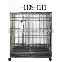 Wholesale dog cages,folded dog cages,folded dog crates(AF1109) from china suppliers