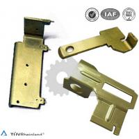 Wholesale OEM Metal Stamping Parts Yellow Zinc Plated , Metal Precision Parts from china suppliers