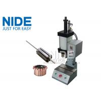Wholesale Manually Armature Rotor Commutator fitting Pressing Inserting Machine 5KN from china suppliers