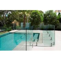 Wholesale AS2208 Standard Swimming Pool Glass Fencing , Glass Panel Garden Fencing Safety from china suppliers