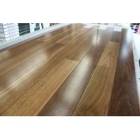 Quality Spotted Gum Timber Flooring--Australian spotted gum floating floors, natural color stain, gloss for sale