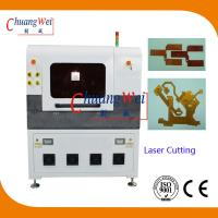 Buy cheap Laser Cutting PCB Depaneling Machine , 17 Watt UV Laser Cutter Equipment from wholesalers
