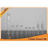 Wholesale 2ml 3ml 4ml 10ml Empty Glass Sample Perfume Vials With Screw Spray , Miniature Glass Bottles from china suppliers