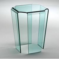Buy cheap China best quality 4mm 5mm 6mm 8mm hot bent glass console table factory from wholesalers