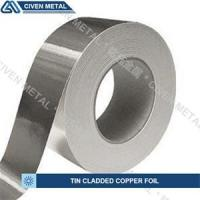 Wholesale Single / Double Side Tin Plated Copper Foil with corrosion protection from china suppliers