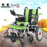 Wholesale Various Color Portable Motorized Wheelchair Aluminum Alloy Material DLY-6001 from china suppliers