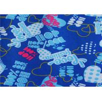 Wholesale Pvc / Pu Coated Blue Polyester Fabric Waterproof For Raincoat from china suppliers