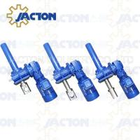 Wholesale 25T Machine Screw Jack Lifting Screw Diameter 90MM Lead 16MM Gear Ratio 32:3 and 32:1 from china suppliers