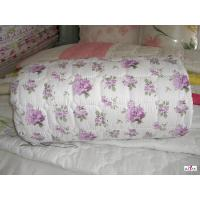 Wholesale OEM Full Size Flower Patterned 100 % Cotton Outer Fabric Personalized Comforters from china suppliers