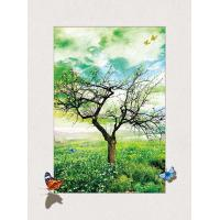 Wholesale Four Season Tree 5d Lenticular Pictures 0.6mm Pet 30*40cm Painting Poster from china suppliers