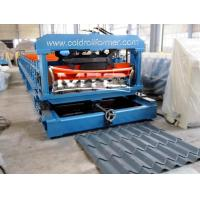 Wholesale Roofing Glazed Tile Roll Forming Machine from china suppliers