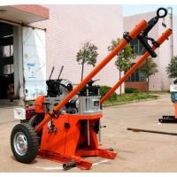 Buy cheap 150m Depth Geotechnical Portable Drilling Rig Machine / Rotary Drilling Rig from wholesalers