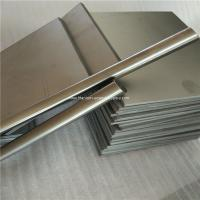 Wholesale 6mm thickness Ti GR5 Grade5 Titanium alloy metal plate sheet wholesale price from china suppliers