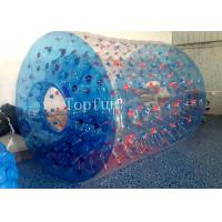 Wholesale Fantastic Design Inflatable Toys , PLATO Water Roller Ball Games Blue from china suppliers