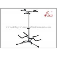 Wholesale Metal Portable Music Stand , Multiple Folding Guitar Stand 43 - 93cm Height from china suppliers