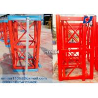 Wholesale 1.508m Hoist Mast Sections with Painting and Hot Galvanized Type from china suppliers