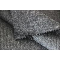Quality 30% Wool /  70% Polyester Suiting Fabric , 500G / M Twilled Worsted Cloth for sale