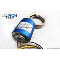 Quality 25.4mm Through Bore Electrical Slip Ring / Rotary Slip Ring With 2 - 36 Circuits , OD 78mm for sale
