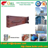 Quality 35 Ton Petroleum Steam Boiler Water Wall Tubes ORL Power SGS With Hot Water for sale