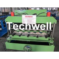 Quality Steel Tile Roll Forming Machine / Cold Roll Forming Machine for Color Steel Tile for sale