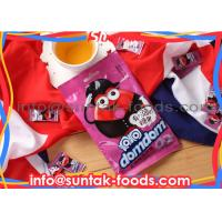 Wholesale White Color Sour Sweets Candy , Sour Plum Candy With Flow Pack Wrapped from china suppliers