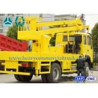 Wholesale SINOTRUK 4x2 High Strength Aerial Platform Truck with Fold Boom 190HP from china suppliers
