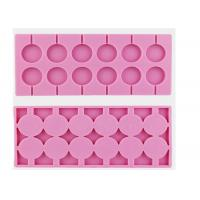Wholesale Durable Pink 12 Cavity Chocolate Candy Molds 100% Food Grade from china suppliers