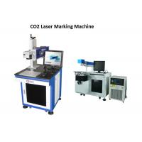 Wholesale Printing Bar Code CO2 Laser Engraving Machine With High Accuracy / Speed , Laser Printer from china suppliers