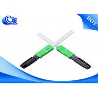 Wholesale SC/APC UPC hot melt type fiber optic fast connector from china suppliers