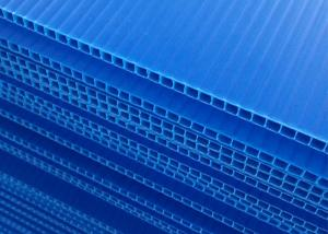 Wholesale Blue Round Corner Fireproof Recycled PP Hollow Board from china suppliers