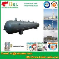 Wholesale Heat preservation biomass boiler mud drum ORL Power ASME certification manufacturer from china suppliers
