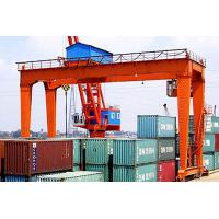 Wholesale Container Rail Mounted Gantry Crane Double Beam , Electric Mobile Gantry Crane from china suppliers