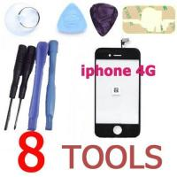 Buy cheap Touch Screen glass Digitizer panel For iphone 4g 4 Gen 4th replacement repair parts from wholesalers