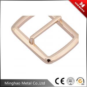 Quality Suitable nylon webbing zinc alloy metal tri-glide buckle 19.51*28.17mm,bag adjustable buckle for sale