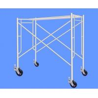 Buy cheap Walk through Frame Scaffolding customized as requied with caster wheel from wholesalers