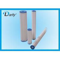 Wholesale Polyester / PP / Cellulose 20 inch Big Blue Filter Cartridges for Water Purification from china suppliers
