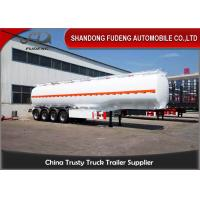 Wholesale Fudeng 60000L Fuel Tank Semi Trailer 4 Axles 6 Compartments For Fuel Delivery from china suppliers
