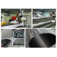 Wholesale 600MM Wedge Wire Screen Cylinders Wire Mesh Manufacturing Machine Low Noise from china suppliers