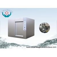 Wholesale SS304 Sliding Door With Steam Generator Horizontal Autoclaves For Research Institutes from china suppliers