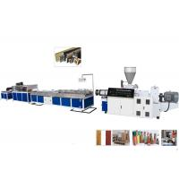 Wholesale TPU / TPR / TPE PVC Plastic Profile Making Machine For Ceiling and Decking from china suppliers
