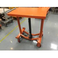 Wholesale Foot Operated Hydraulic Post Lift Table 635 Mm Lowest Height For Heavy Duty Shop from china suppliers