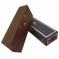 Wholesale Cardboard Wine Boxes, Resistant to Moisture, Eco-friendly, Available in Various Colors from china suppliers