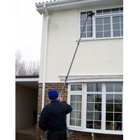 Quality high stiffness 100% carbon fiber waterfed Long reach pole for window cleaning for sale