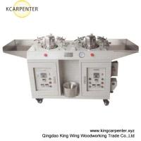 Wholesale double heads cap shaping machine heating by steam from china suppliers